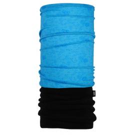 Nákrčník PAC MERINO FLEECE Pattern Prina Blue