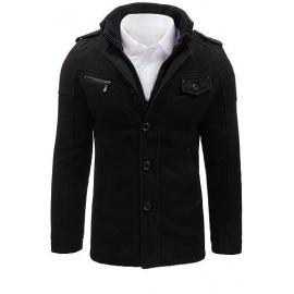 Men's black coat CX0399