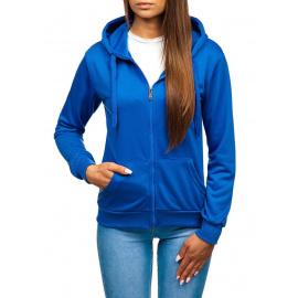 Volnočasová dámská mikina WB1005 - světle modrá,