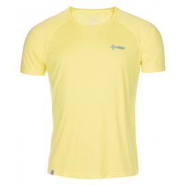 Men's functional T-shirt Dimaro-m yellow - Kilpi