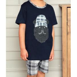 Chlapecké pyžamo Christina secret modré (CHR-Y-12251)