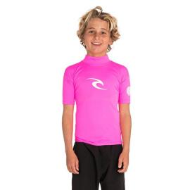 Lykra Rip Curl JNR.CORPO S/SL UV TEE  Hot Pink